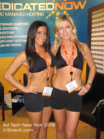 Ad Tech Booth Babes
