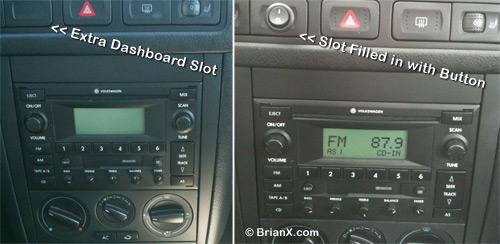 iPhone Car Radio Dashboard