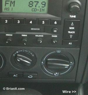 iPhone Car Radio Wire