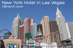 The New York Hotel in Las Vegas