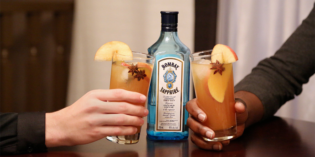 Gin Cocktail Recipes Bombay Sapphire Power Hour