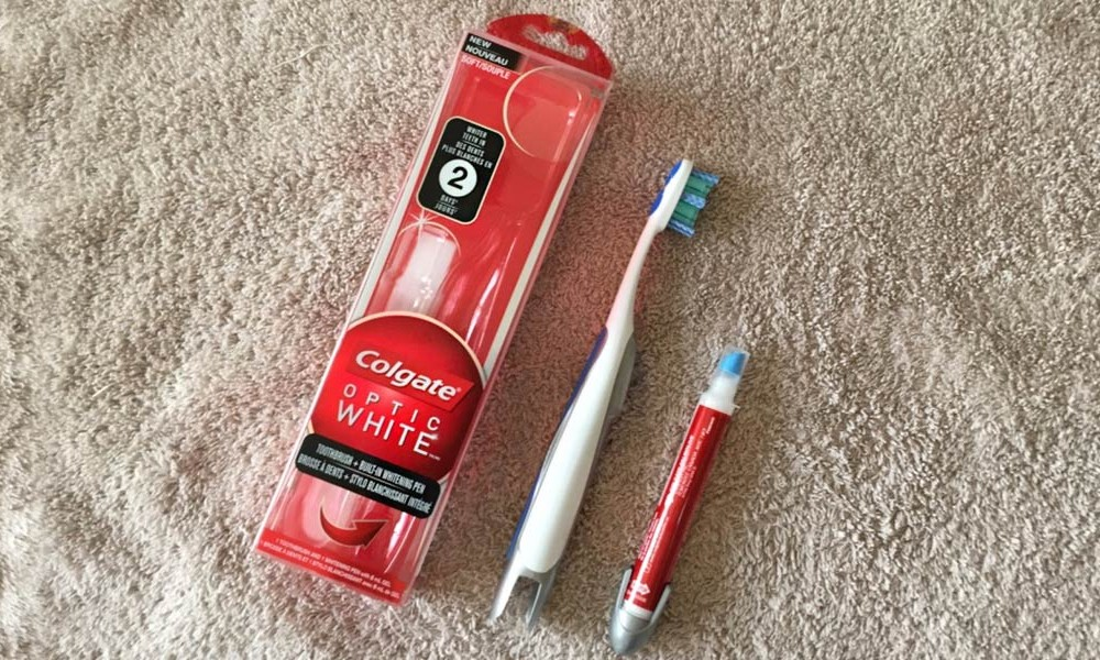Teeth Whitening With Colgate Optic White Product Review
