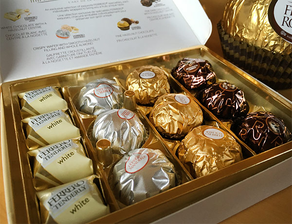 Melt Chocolate With Gold